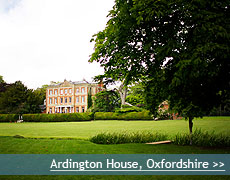Ardington House wedding venue in Oxfordshire
