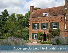 Auberge du Lac wedding venue in Hertfordshire