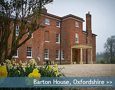 Barton House wedding venue in Oxfordshire