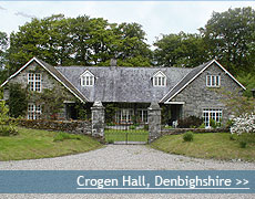 Crogen Hall wedding venue in Denbighshire