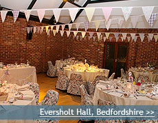 Eversholt Hall wedding venue in Bedfordshire