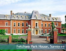 Fetcham Park House wedding venue in Surrey
