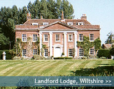 Landford Lodge wedding venue in Wiltshire