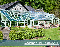 Maesmor Hall wedding venue in Conwy