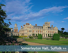 Somerleyton Hall wedding venue in Suffolk