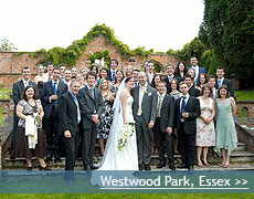 Westwood Park wedding venue in Essex
